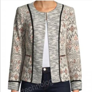 IVANKA TRUMP HEMMA TWEED CAREER BLAZER XS NEW